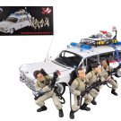 "1959 Cadillac Ambulance Ecto-1  ""Ghostbusters 1"" Movie 4 Figures Elite Edition 1/18 by Hotwheels"