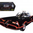 1966 TV Series Batmobile With Batman & Robin Figures 1/18 Diecast Model Car by Hotwheels
