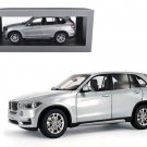 BMW X5 5.0i xDrive (F15) Glacier Silver 1/18 Diecast Model Car by Paragon