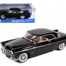 1956 Chrysler 300B Black 1/18 Diecast Model Car by Maisto
