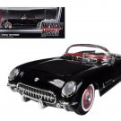 1954 Chevrolet Corvette Black Limited  1/18 Diecast Model Car by Autoworld