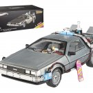 Elite Cult Classics Back To The Future Time Machine Delorean with Extras and Mr. Fusion -Hotwheels