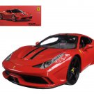 Ferrari 458 Red Special  Signature Series 1/18 Diecast Model Car by Bburago