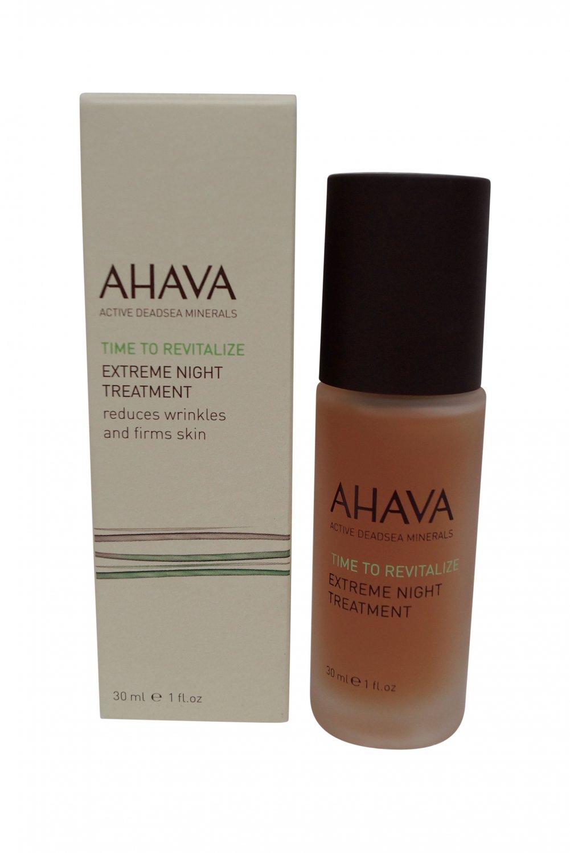 AHAVA Time to Revitalize Extreme Night Treatment, 1 fl. oz.