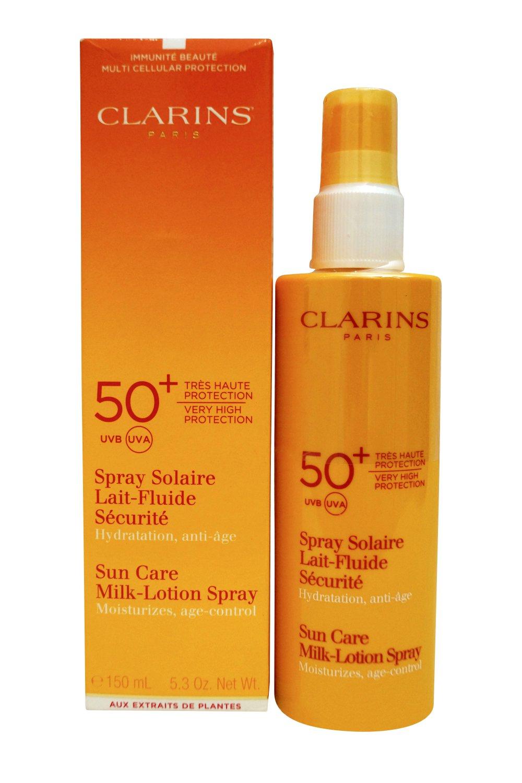 Clarins Sun Care Milk-Lotion Spray Very High Protection UVB/UVA 50+ 5.3 Oz
