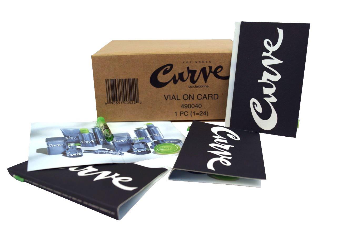 Liz Claiborne Curve Women Carded Vial Set 1.52ml each (box of 24)