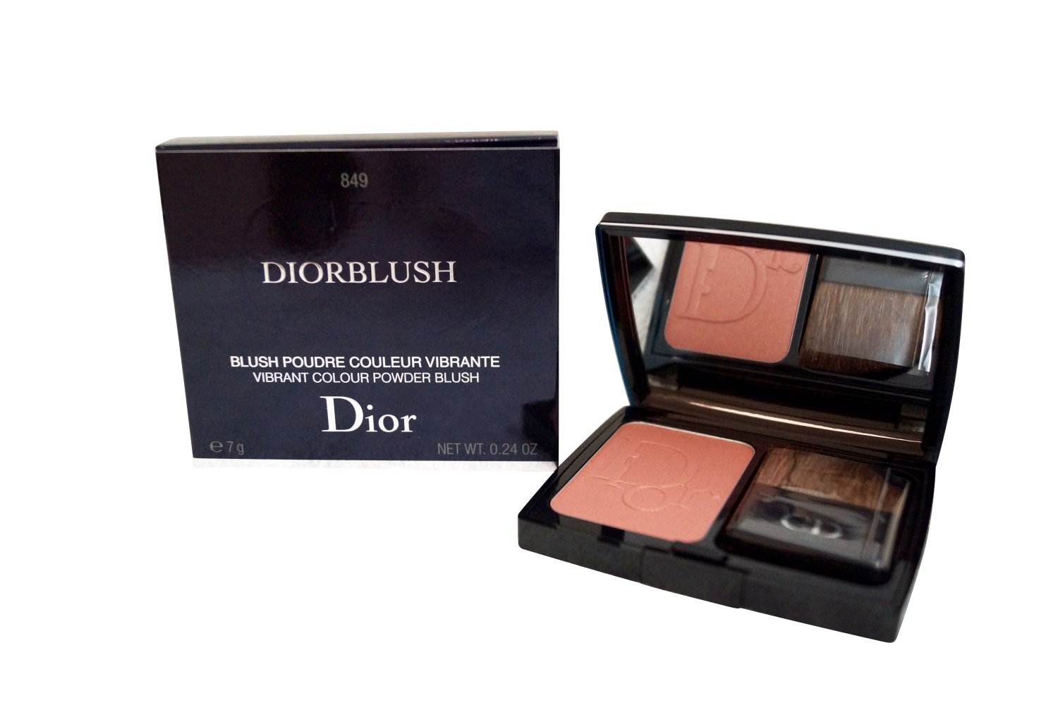 Dior Diorblush Vibrant Colour Powder Blush 849 Mimi Bronze
