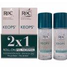 RoC KEOPS Deodorant Roll-On 30 ml DUO