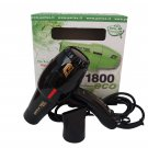 Parlux 1800 Eco Edition Black Hair Blow Dryer FOR EUROPE/UK USE ONLY