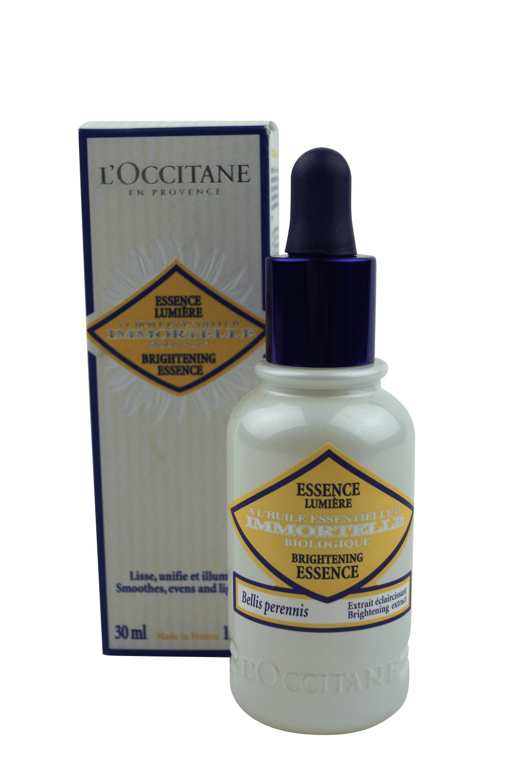 L'Occitane Immortelle Brightening Essence, 1 oz.