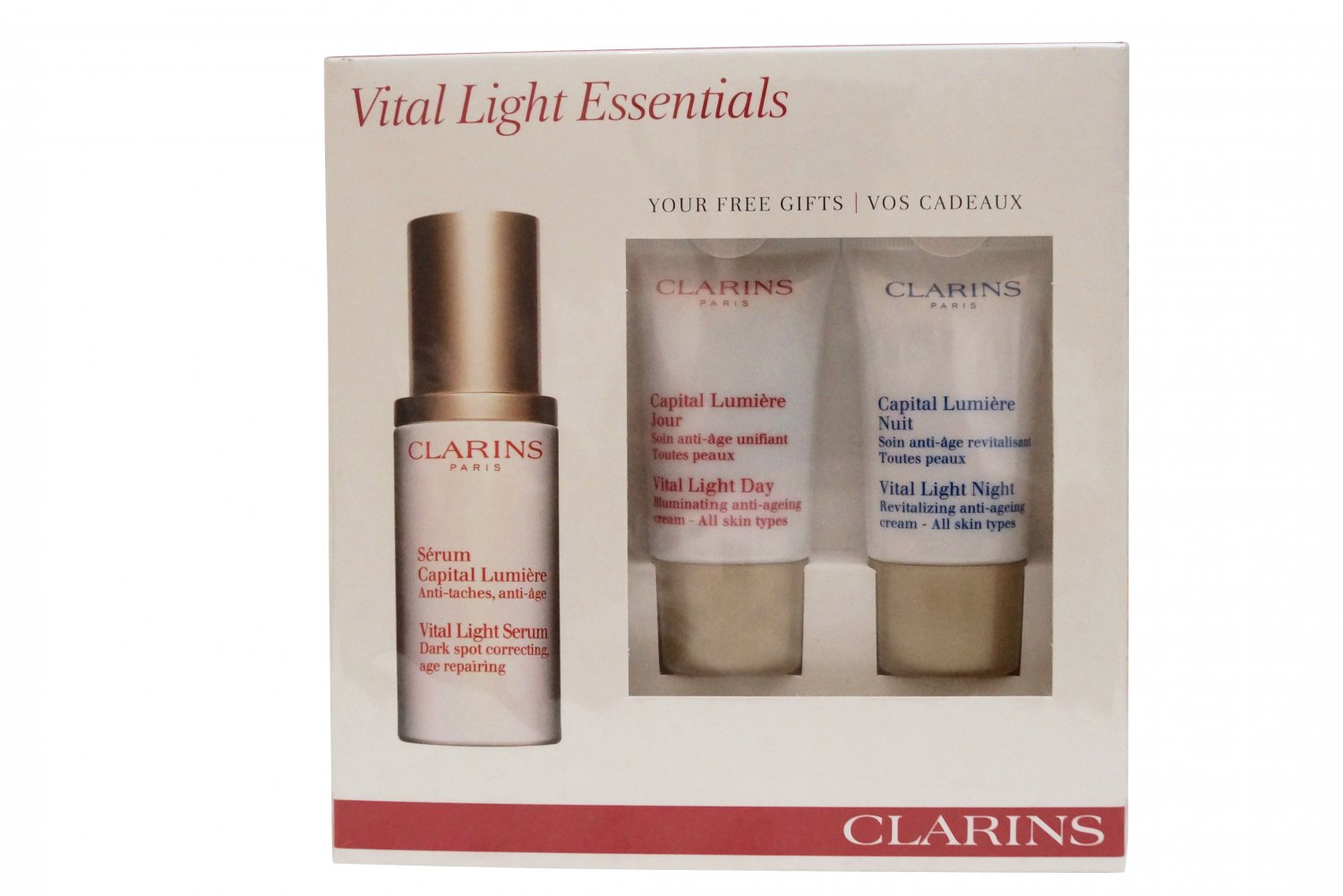 Clarins Vital light Essentials Set