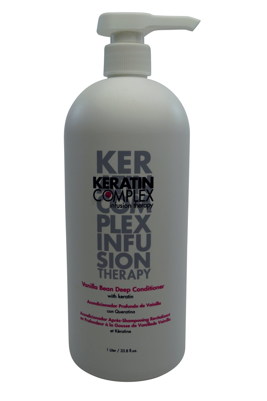 Coppola Keratin Complex Vanilla Bean Deep Conditioner with Keratin 33.8 oz