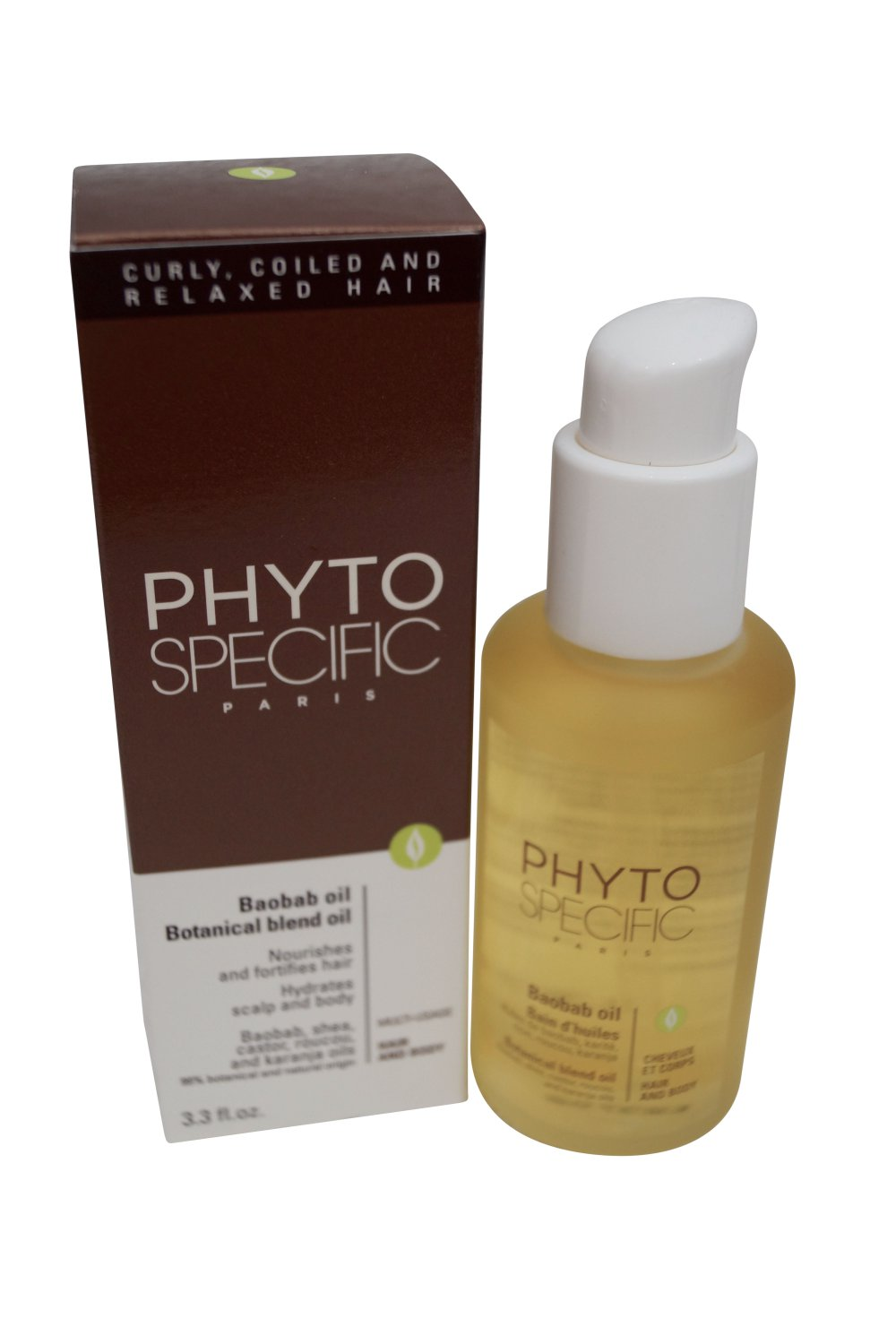 Phyto Specific Baobab Oil, 3.3 fl. oz.