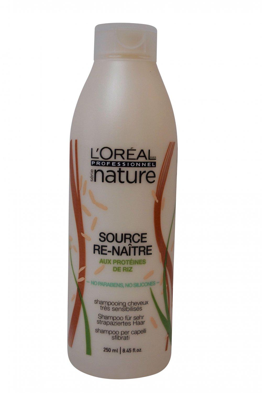 L'Oreal Nature Source Re-Naitre Shampoo 250 ml 8.45 oz