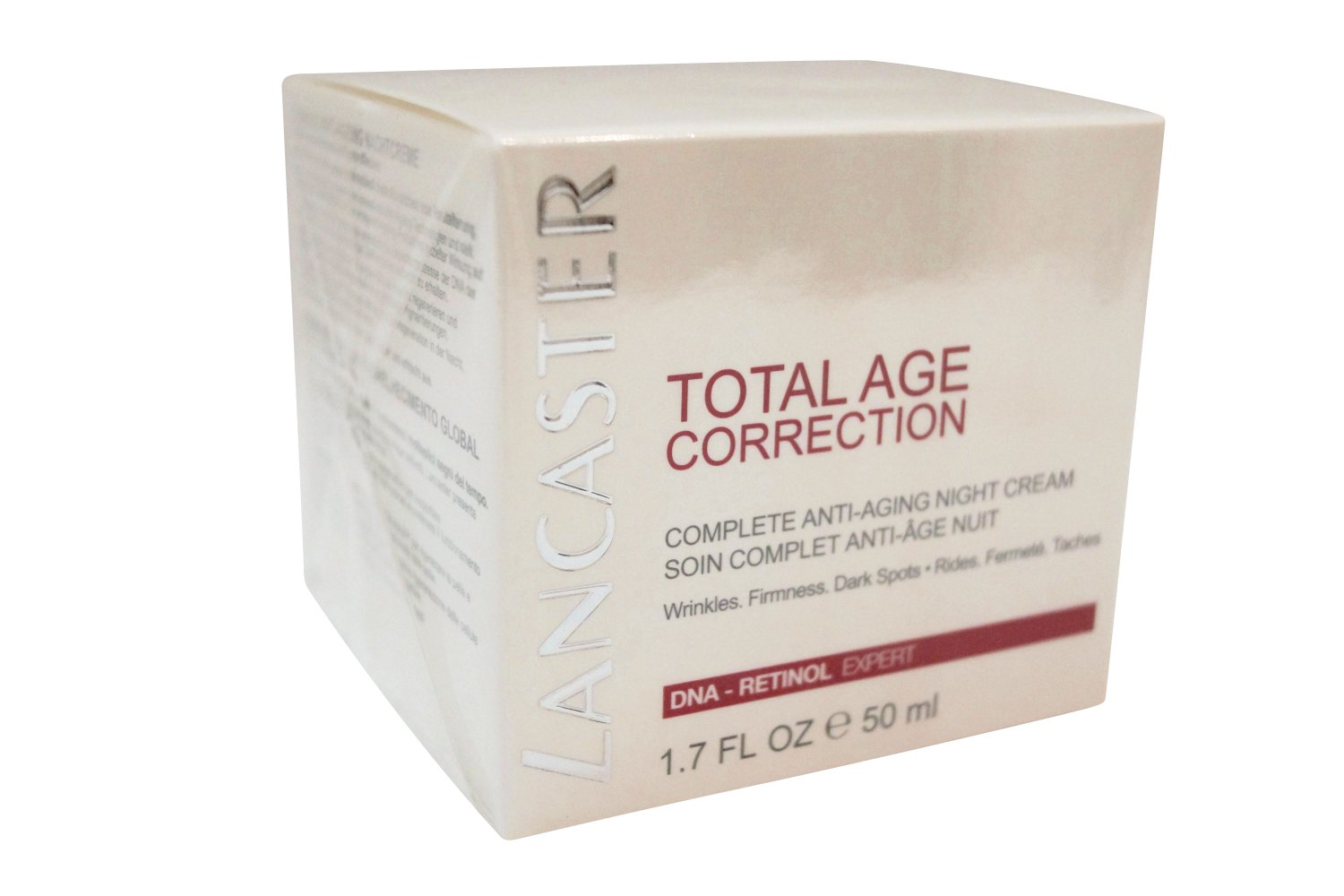 Lancaster Total Age Correction Complete Anti-Aging Night Cream, 50 ml 1.7 oz.