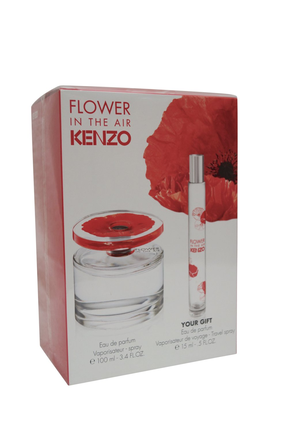 Kenzo Flower in the Air EDP Set, 100 ml.