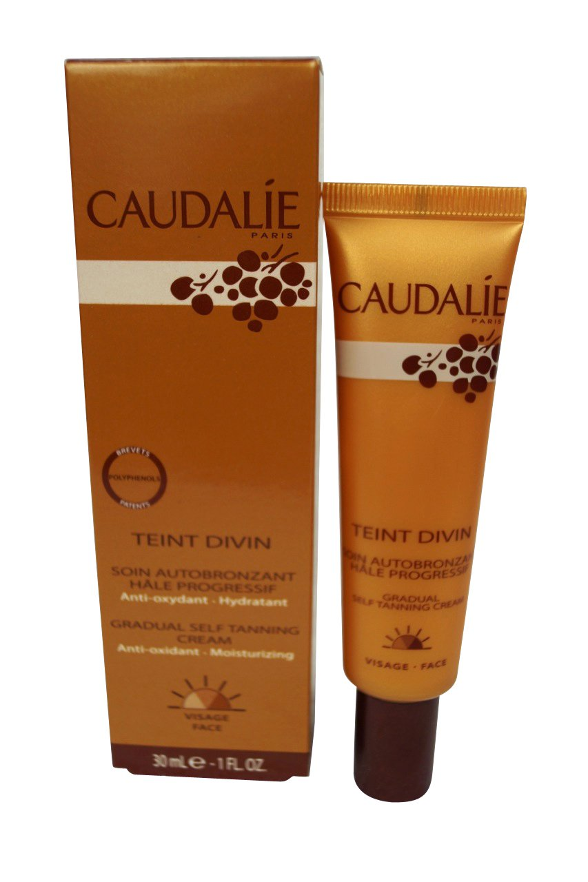 Caudalie Teint Divin Gradual Self Tanning Cream for Face 30ml