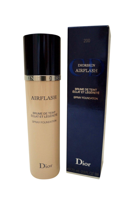 Dior Diorskin Airflash Spray Foundation Light Beige, 200 2.3 oz.