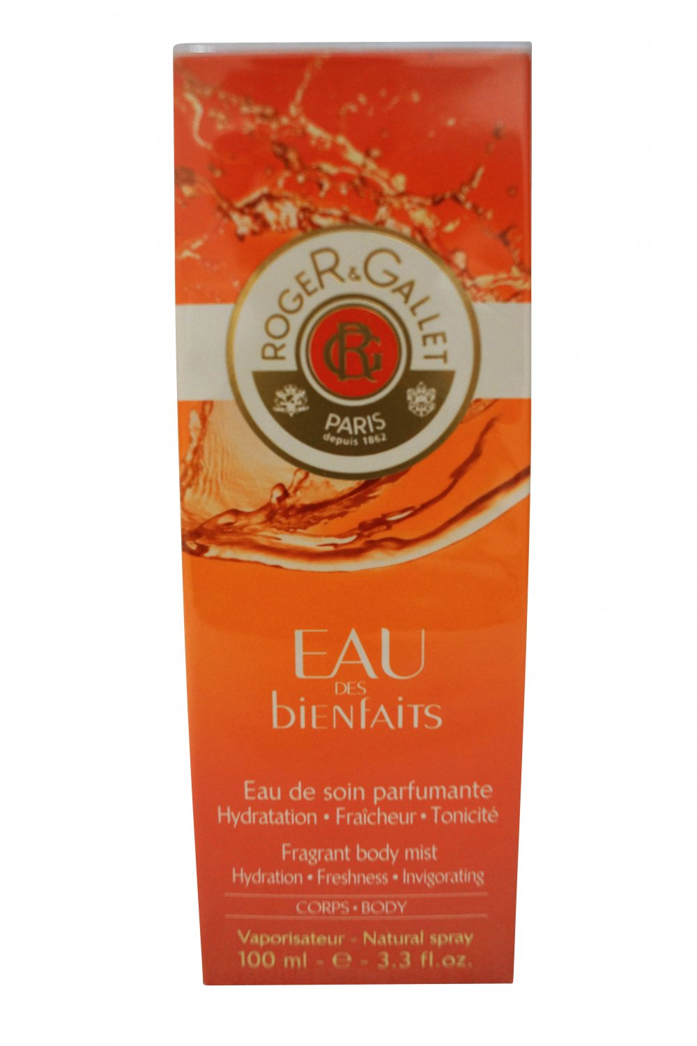 Roger & Gallet Eau Des Bienfaits Fragrant Body Mist Spray 3.3 oz