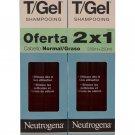 Neutrogena T/Gel Dandruff Shampoo Norm-Oily, 250 ml. Twin Pack