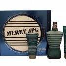 Jean Paul Gaultier Le Male Gift Set 4.2oz,EDT, 2.5oz, All Over Shower Gel 1.7oz