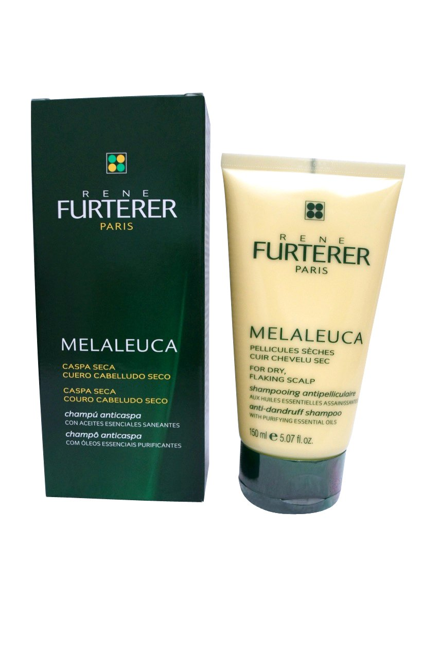 Rene Furterer Melaleuca Anti-Dandruff Shampoo for Dry, Flaking Scalp 5.07 oz