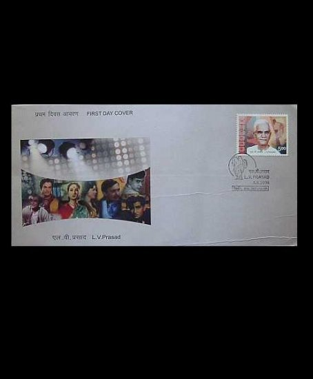 INDIA  L V PRASAD  STAMP FIRST DAY COVER 2006