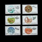 POLAND SCIENTIFIC EXPEDITION STAMPS 1980