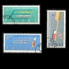 POLAND EUROPEAN CANOEING CHAMPIONSHIPS  STAMPS 1961