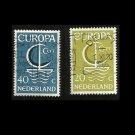 EUROPA STAMPS NETHERLANDS NEDERLAND 1966