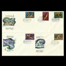 RUSSIA SOVIET UNION MOSCOW OLYMPICS WATER SPORTS FIRST DAY COVERS 1978