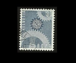 EUROPA CEPT STAMP SWITZERLAND HELVETIA 1967