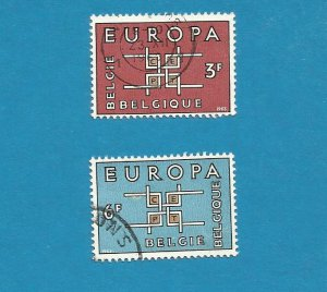 EUROPA CEPT STAMPS BELGIUM BELGIE BELGIQUE 1963