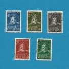 CHILD WELFARE STAMPS NETHERLANDS NEDERLAND 1941