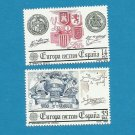 EUROPA CEPT STAMPS SPAIN NATIONAL HISTORIC EVENTS 1982