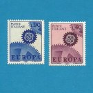 EUROPA CEPT STAMPS ITALY COGWHELL DESIGN 1967