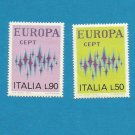 EUROPA CEPT STAMPS ITALY 1972