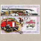 GUINE BISSAU EMERGENCY SERVICES IN TRANSPORT STAMP MINISHEET 2006