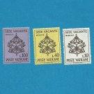 VATICAN DEATH OF POPE JOHN XXIII STAMPS 1963