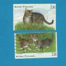 FINLAND CAT  STAMPS 1995