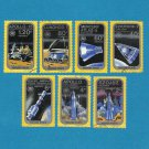HUNGARY SOYUZ AND APOLLO  SPACE CRAFT STAMPS 1975