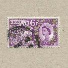 UNITED KINGDOM PARIS POSTAL CONFERENCE STAMP 1963