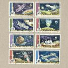 HUNGARY MOON FLIGHT STAMPS 1969