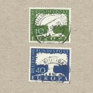 GERMANY EUROPA STAMPS 1957 EUROPA STAMPS