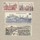 CZECHOSLOVAKIA INTERNATIONAL YEAR OF TOURISM STAMPS 1967