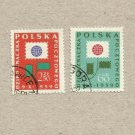 POLAND THE DAY OF THE STAMP STAMPS 1959