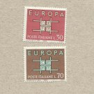 EUROPA CEPT STAMPS ITALY 1963 MINT NEVER HINGED