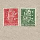 GERMANY 1944 RAD LABOUR SERVICE STAMPS MNH MINT NEVER HINGED