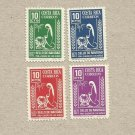 COSTA RICA CHRISTMAS STAMPS 1972 MNH MINT NEVER HINGED