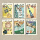 VIETNAM SPACE FLIGHT SPACE EXPLORATION STAMPS 1980